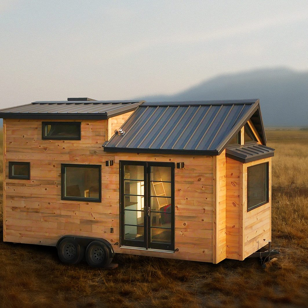 Image of a tiny home on wheels